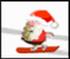 Santa Snowboard